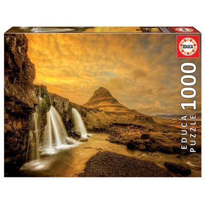 Educa Kirkjufellsfoss vízesés puzzle, 1000 darabos