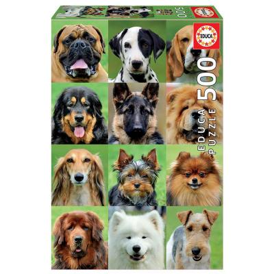 Educa Kutya kollázs puzzle, 500 darabos