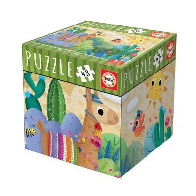 Educa Láma puzzle, 48 darabos