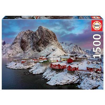 Educa Lofoten szigetek puzzle, 1500 darabos