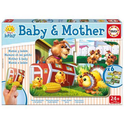 Educa Mama és kicsinye bébi puzzle 2