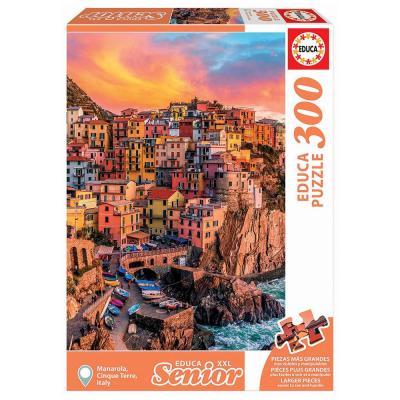 Educa Manarola Cinque Terre Olaszország XXL puzzle, 300 darabos