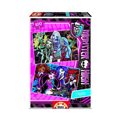 Educa Monster High puzzle, 2x100 darabos