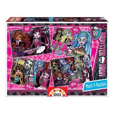 Educa Monster High puzzle, 4 az 1-ben