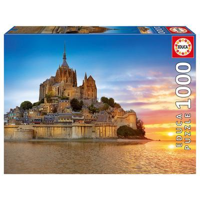 Educa Mont-Saint-Michel puzzle, 1000 darabos