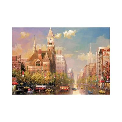Educa New York-i délután, Alexander Chen puzzle, 6000 darabos