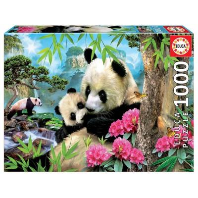 Educa Pandák puzzle, 1000 darabos