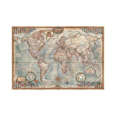 Educa Politikai térkép mini puzzle, 1000 darabos
