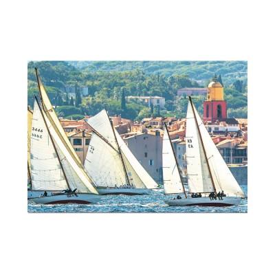 Educa Saint Tropez-i vitorlázás puzzle, 1000 darabos