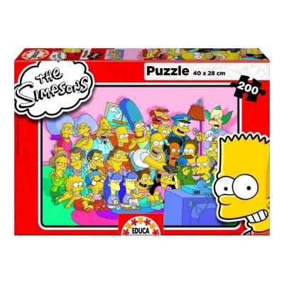 Educa Simpsons puzzle, 200 darabos