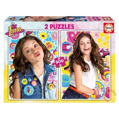 Educa Soy Luna puzzle, 2x500 darabos