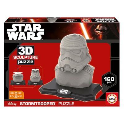 Educa Star Wars rohamosztagos 3D puzzle szobor, 160 darabos