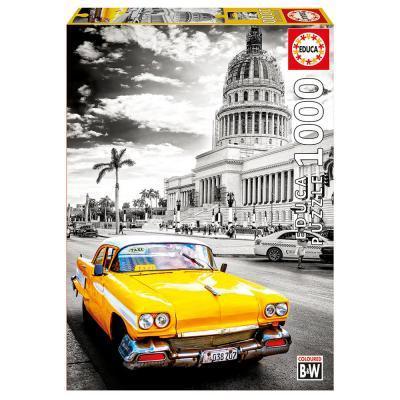 Educa Taxi Havannában puzzle, 1000 darabos
