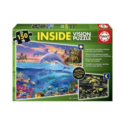 Educa Tengeri állatok puzzle, 150 darabos