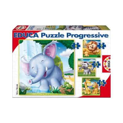 Educa Vadállatos puzzle