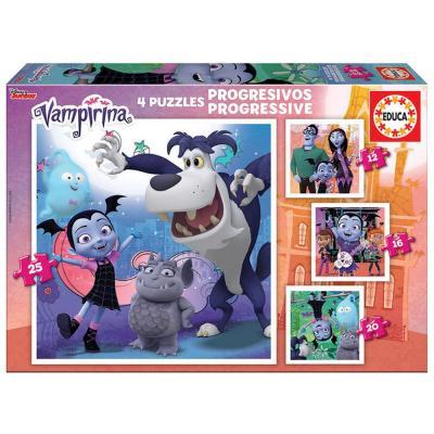 Educa Vampirina 4 az 1-ben puzzle