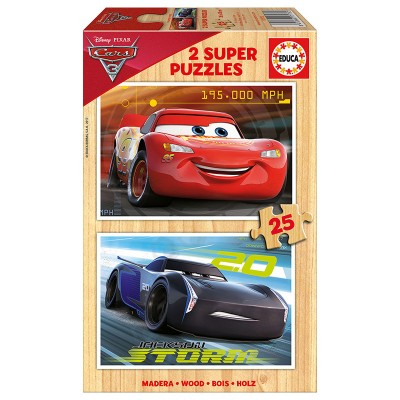 Educa Verdák 3. fa puzzle, 2x25 darabos