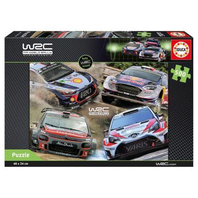 Educa WRC rali-világbajnokság puzzle, 500 darabos