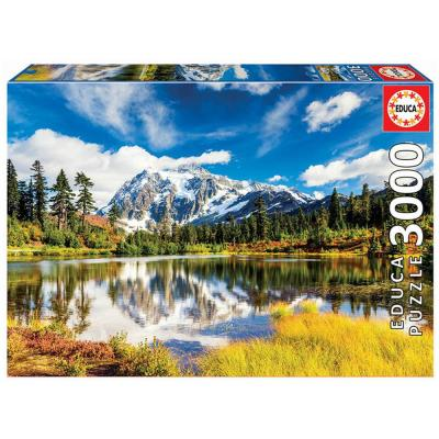 Educa Washingtoni Shuksan hegy puzzle, 3000 darabos