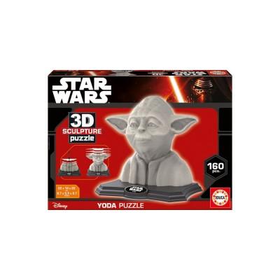 Educa Star Wars Yoda 3D puzzle, 160 darabos