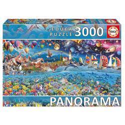 Educa Az élet puzzle, 3000 darabos
