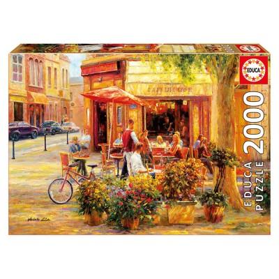 Educa Haixia Liu: Corner Cafe puzzle, 2000 darabos