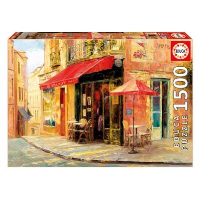 Educa Haixia Liu: Hillside Cafe puzzle, 1500 darabos