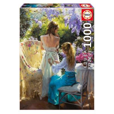 Educa Vicente Romero: Tavasz puzzle, 1000 darabos