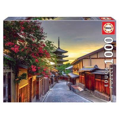 Educa Yasaka Pagoda, Kyoto, Japán puzzle, 1000 darabos