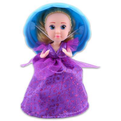 Cupcake meglepi sütibaba - Violet