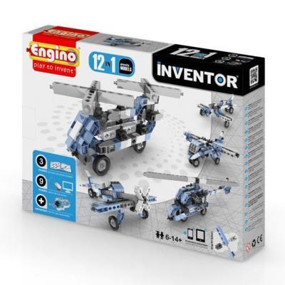 Engino Inventor 12 az 1-ben építőjáték - Légi járművek