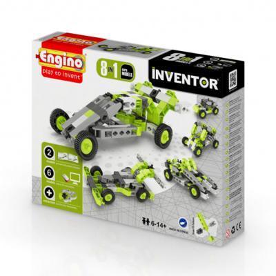 Engino Inventor 8 az 1-ben építőjáték - Autók