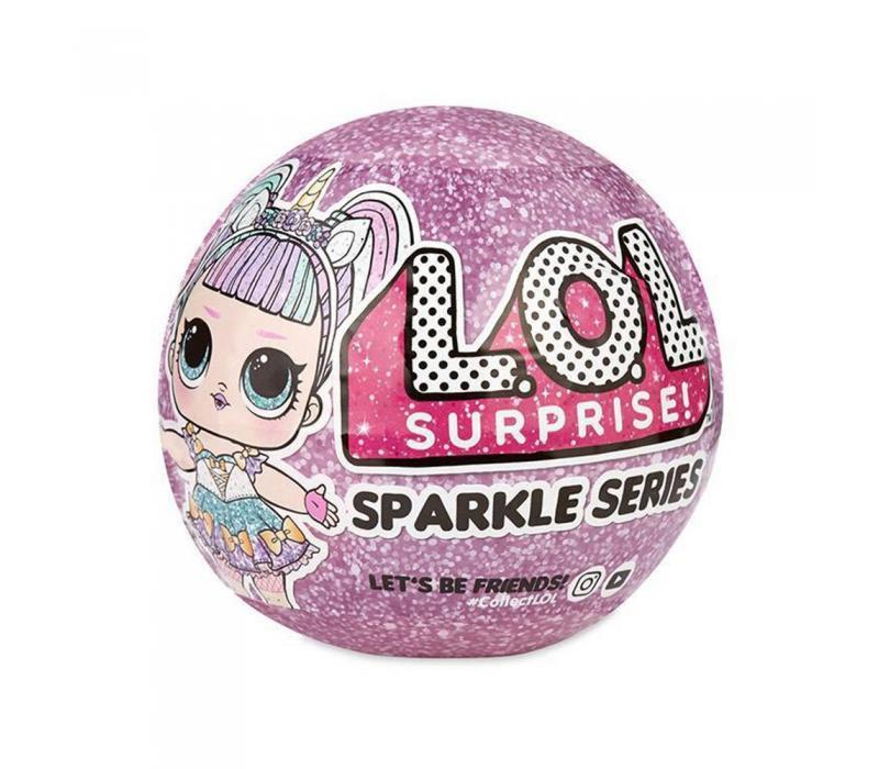 L.O.L Surprise Sparkle Series, a legcsillogóbb LOL babák