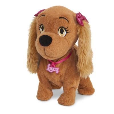 Lucy táncoló és éneklő interaktív kutya