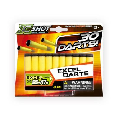 X-Shot 30 db utántöltő töltény