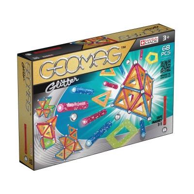 Geomag Glitter Csillámos készlet, 68 darabos