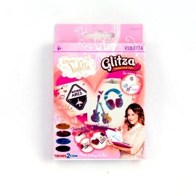 Glitza Violetta csillámtetoválás szett