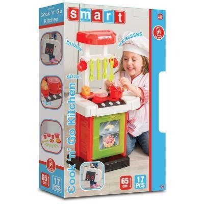 Smart Cook'n'Go játékkonyha, 17 kiegészítővel 2018