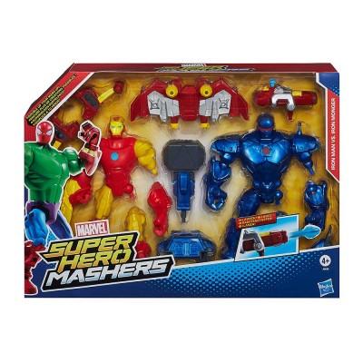 Avengers - Bosszúállók Hero Mashers Iron Man és Iron Monger figura