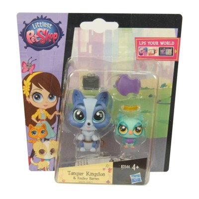 Littlest Pet Shop Tangier Kingston és Radley Barnes picurka kedvenc