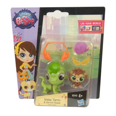 Littlest Pet Shop Vinnie Terrio és Harrison Hedger picurka kedvencek