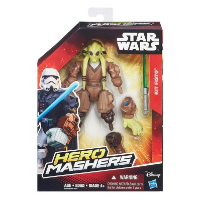 Star Wars Hero Mashers Kit Fisto figura