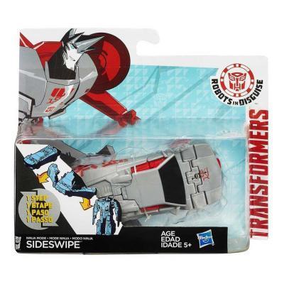 Transformers RID Sideswipe egy mozdulattal átalakítható robotfigura