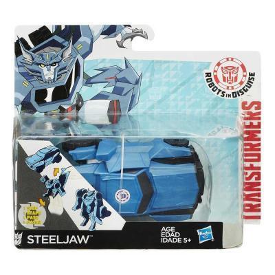Transformers RID Steeljaw egy mozdulattal átalakítható robotfigura
