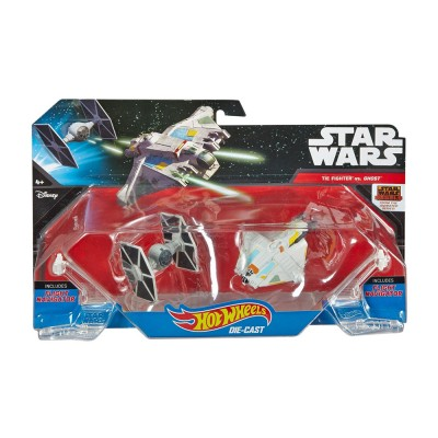 Hot Wheels Star Wars Tie Fighter vs. Ghost űrhajók