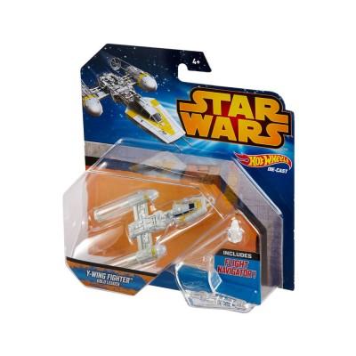 Hot Wheels Star Wars Y-Wing Fighter Gold Leader űrhajó