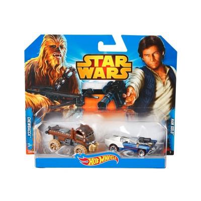 Hot Wheels Star Wars kisautó, Chewbacca és Han Solo