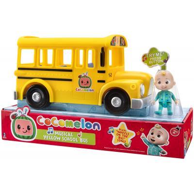 CoComelon zenélő sárga iskolabusz