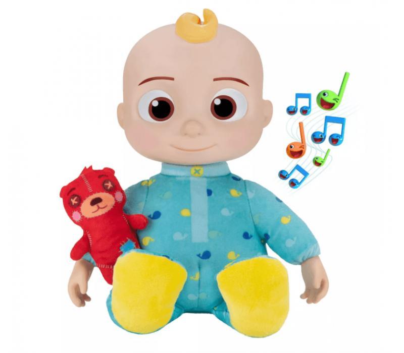 CoComelon Roto zenélő JJ plüss baba 30 cm