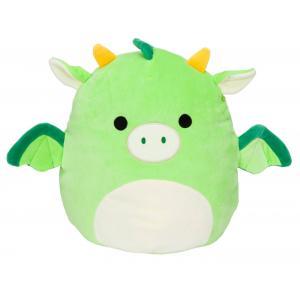 Dexter a zöld sárkány 20cm plüssjáték - SQUISHMALLOWS